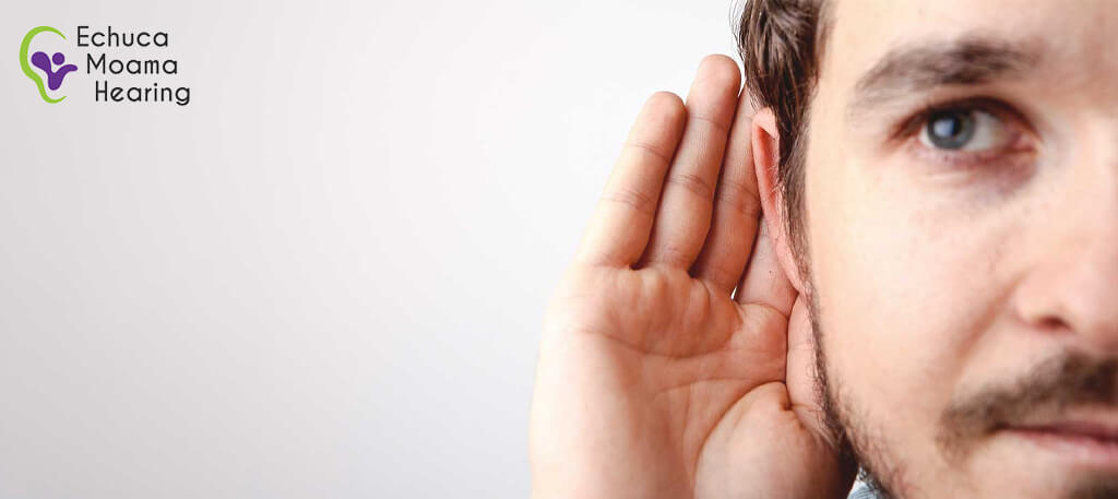Young man with hearing loss visiting good audiologists in Echuca
